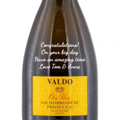 Personalised Valdo Oro Puro Prosecco Superiore NV