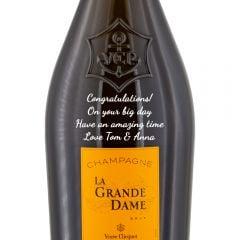 Personalised Veuve Clicquot La Grande Dame