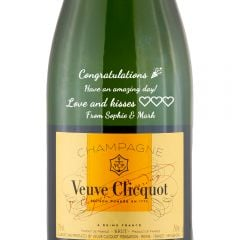 Personalised Veuve Clicquot Vintage