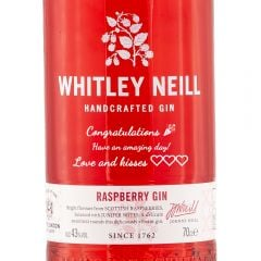 Personalised Whitley Neill Raspberry Gin