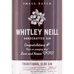 Personalised Whitley Neill Sloe Gin