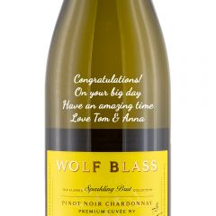 Personalised Wolf Blass Yellow Label Sparkling Brut