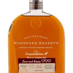 Personalised Woodford Reserve Kentucky Bourbon