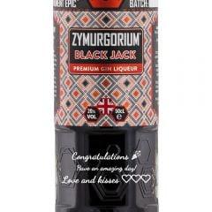 Personalised Zymurgorium Black Jack Gin Liqueur