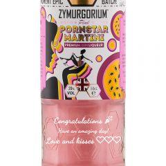 Personalised Zymurgorium Pink Pornstar Martini Liqueur