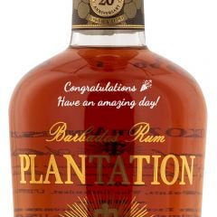 Personalised Plantation Rum XO Reserve