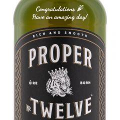 Personalised Proper No Twelve