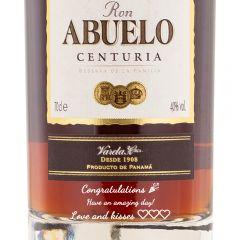 Personalised Ron Abuelo Centuria