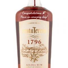 Personalised Santa Teresa 1796 Rum