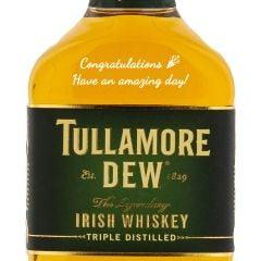 Personalised Tullamore DEW Blended Irish Whiskey