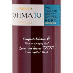 Personalised Warres Otima 10 Year Old Port