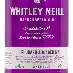 Personalised Whitley Neill Rhubarb & Ginger