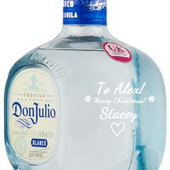 Personalised Don Julio Blanco Tequila