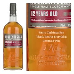 Personalised Auchentoshan 12 Year Old