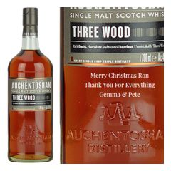 Personalised Auchentoshan Three Wood