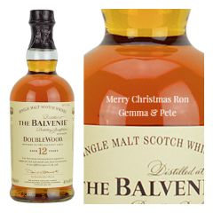 Personalised Balvenie 21 Year Old PortWood Finish