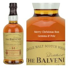 Personalised Balvenie 14 Year Old Caribbean Cask