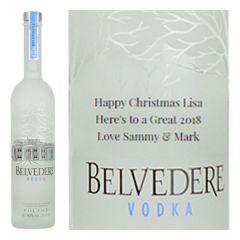 Personalised Belvedere Magnum Vodka 175cl