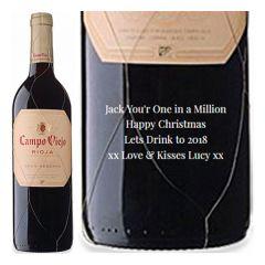 Personalised Campo Viejo Rioja Gran Reserva