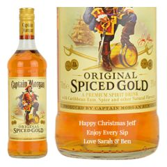 Personalised Captain Morgan Spiced Gold Rum