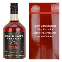 Personalised Chairman Reserve Spiced