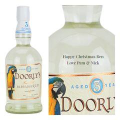 Personalised Doorlys 3 Year Old White Rum