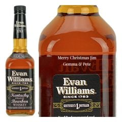Personalised Evan Williams Extra Aged
