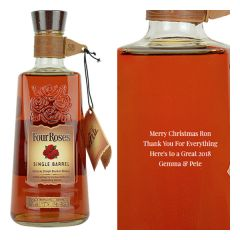 Personalised Four Roses Single Barrel Bourbon