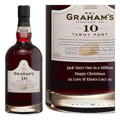 Personalised Graham's 10 Year Old Tawny Port