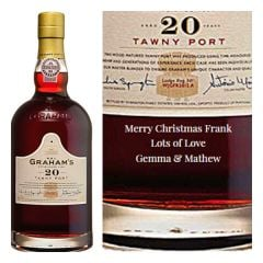 Personalised Graham's 20 Year Old Tawny Port