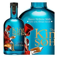 Personalised The King of Soho London Dry Gin