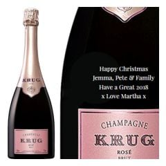 Personalised Krug Rose