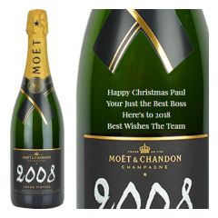 Personalised Moet & Chandon Grand Vintage Magnum 150cl