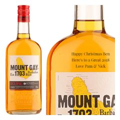 Personalised Mount Gay Eclipse Rum