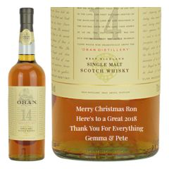 Personalised Oban 14 Year Old
