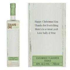 Personalised Square One Cucumber