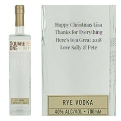 Personalised Square One Vodka