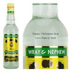 Personalised Wray & Nephew Overproof Rum