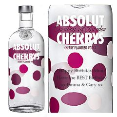 Personalised Absolut Cherry