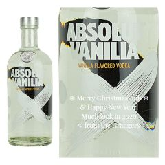 Personalised Absolut Vanilla Vodka
