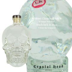 Personalised Crystal Head Magnum Vodka 175cl