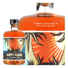 Personalised The Duppy Share Rum