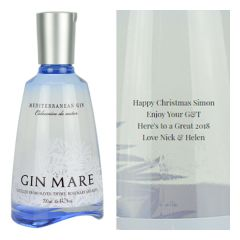 Personalised Gin Mare
