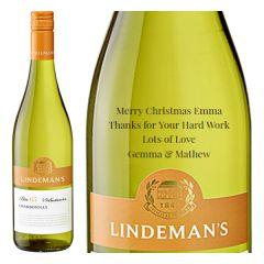 Personalised Lindeman's Bin 65 Chardonnay