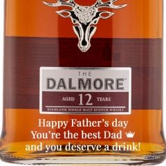 Personalised Dalmore 12 Year Old