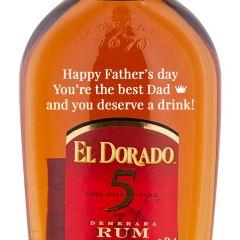 Personalised El Dorado 5 Year Old