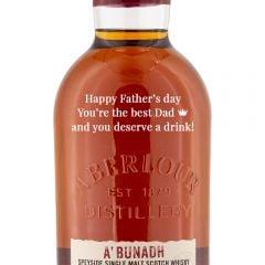 Personalised Aberlour A'bunadh