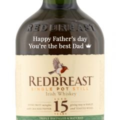 Personalised Redbreast 15 Year Old