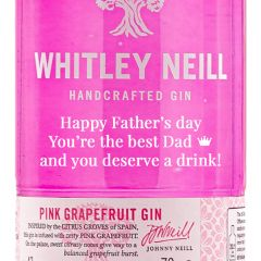 Personalised Whitley Neill Pink Grapefruit