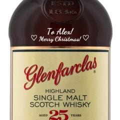 Personalised Glenfarclas 25 Year Old